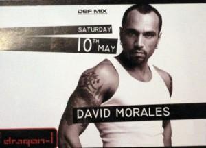 Dj David Morales Tours 2012